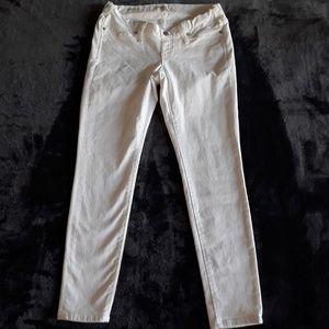 Madewell | NWOT white maternity skinny jeans